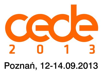 Bezpłatnie na CEDE 2013
