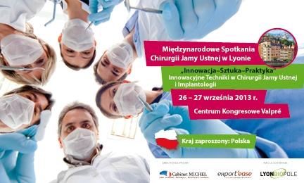 Implantologiczny kongres w Lyonie