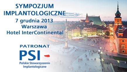Sympozjum Implantologiczne 7 grudnia w Warszawie