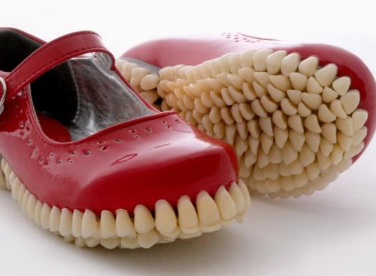 Buty z zębem