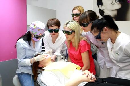 Laseroterapia w gabinecie stomatologicznym