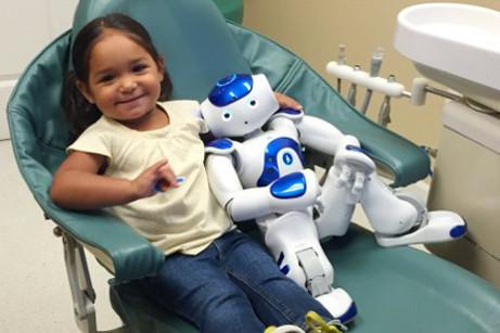 MEDI Robot łagodzi stres u dentysty