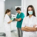 Dentonet - biologiczne czynniki zagrożeń dla asystentek
