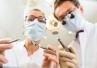 Pacjent z wirusowym zapaleniem wątroby typu C w gabinecie stomatologicznym
