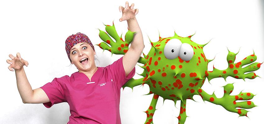 Bakterie atakują …