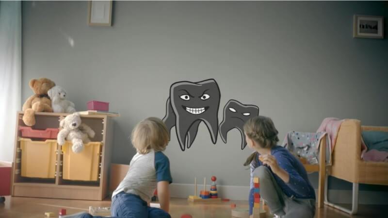 Małe zęby, wielka moc – trwa edukacyjna kampania reklamowa
