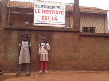 gabinet dentysta w afryce