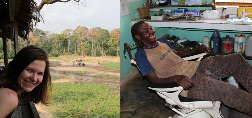 Dentysta w Afryce Pigmeje