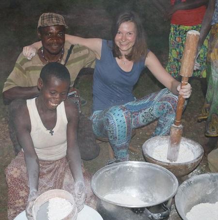 maniok dentysta w afryce