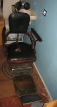 Zabytkowy (stary) fotel dentystyczny firmy Ritter 1928-30