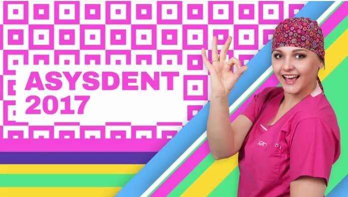Ania Makówka na targach stomatologicznych Asysdent 2017 [video]
