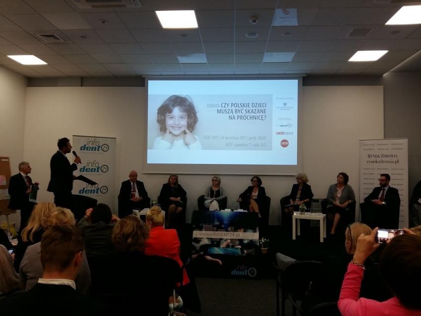 CEDE 2017: eksperci debatowali o próchnicy u najmłodszych