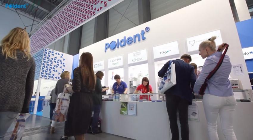 Firma Poldent na wystawie stomatologicznej CEDE 2017