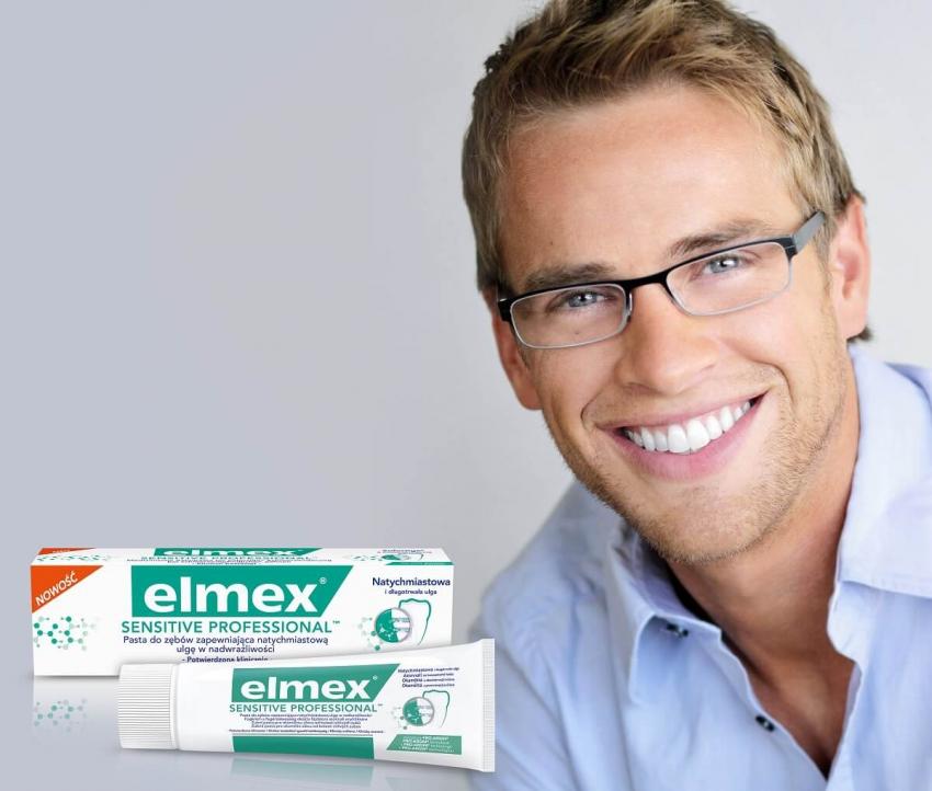 elmex® Sensitive Professional – sposób na nadwrażliwość