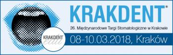 KRAKDENT. 26 Międzynarodowe Targi Stomatologiczne w Krakowie