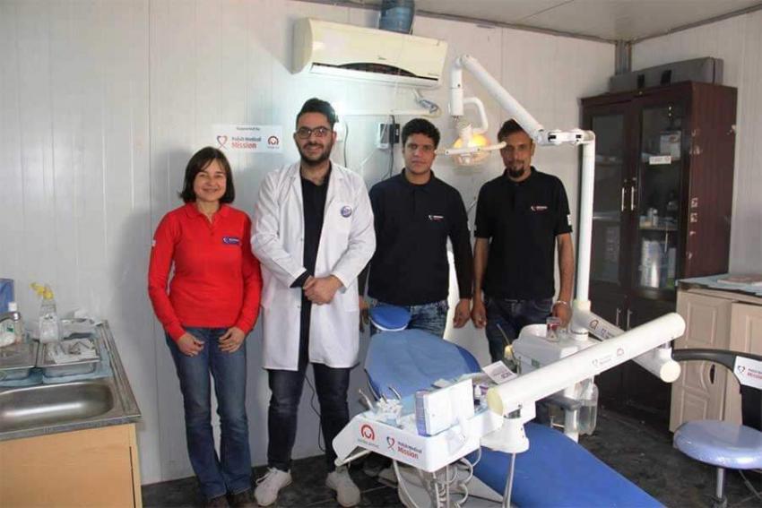 PMM uruchomiła gabinet stomatologiczny w Kurdystanie
