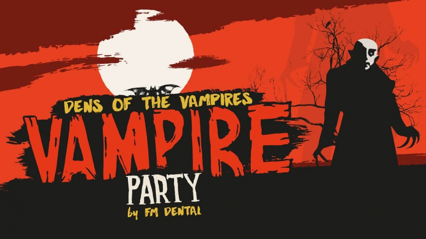 Vampire Party – impreza FM Dental podczas Krakdentu