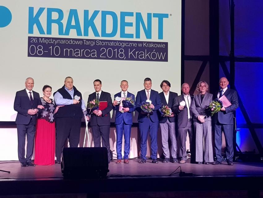 Wręczono Medale Najwyższej Jakości Krakdentu [FOTO]