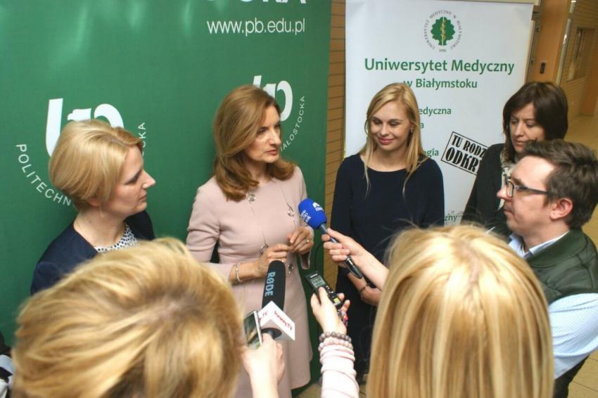 Uniwersytet Medyczny w Białymstoku: patent dla zamiennika naturalnej śliny
