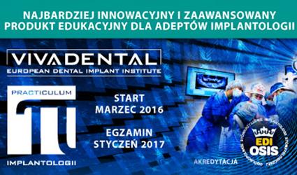 Komplementarne szkolenie dla adeptów implantologii.