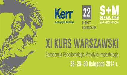 Przed nami XI Kurs Warszawski (28-30 listopada br.)