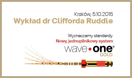 Wybitny endodonta dr Clifford J. Ruddle po raz pierwszy w Polsce