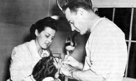 Historia asysty stomatologicznej