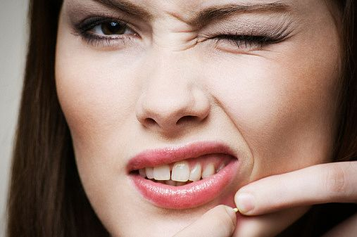 Na wypryski… dentysta