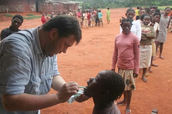 Dentysta w Afryce