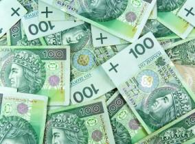 złotówki pieniądze