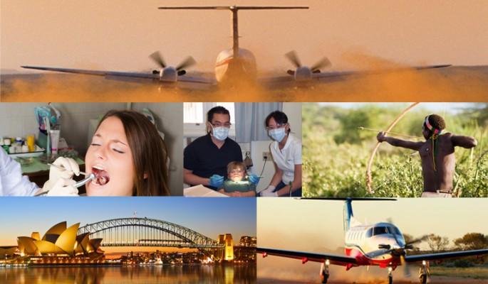 Latająca asysta stomatologiczna – niezwykłe rozwiązanie w Australii