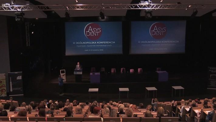 Ogólnopolska konferencja Asysdent 2016 w minutę!