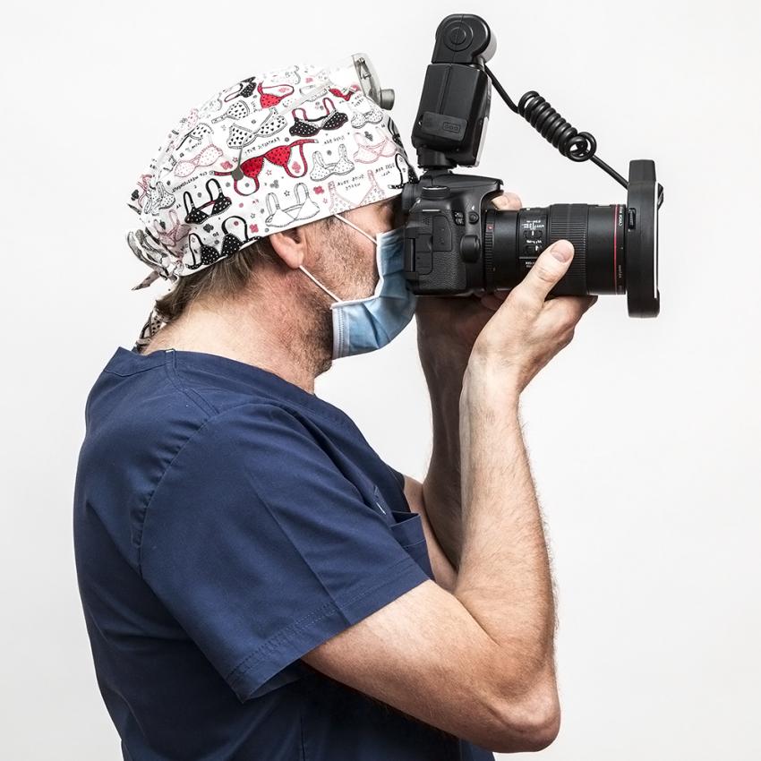 Kiedy pomyślałem o fotografowaniu pacjentów?