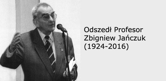 Odszedł Profesor Zbigniew Jańczuk, wybitny polski stomatolog