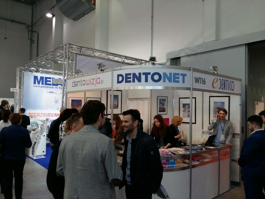 Dentonet na międzynarodowych targach stomatologicznych Krakdent 2017