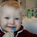 mycie zębów u dzieci - Dentonet.pl