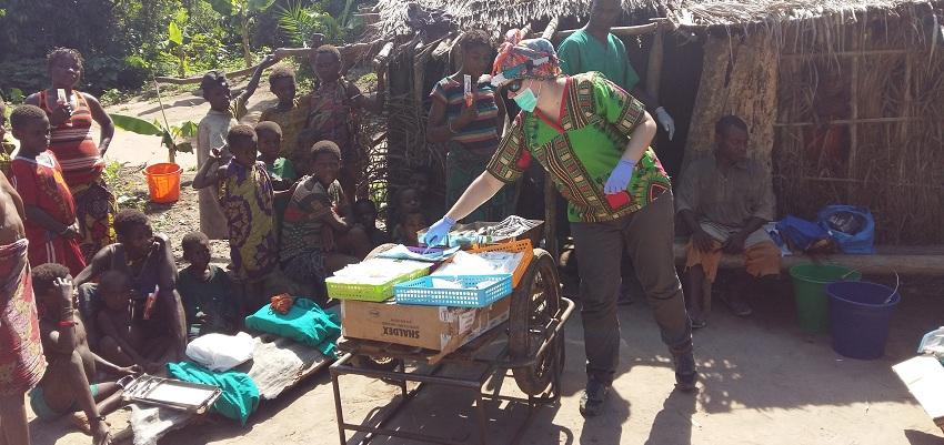 Ból pojawił się przed czy po zbiorze makongo?