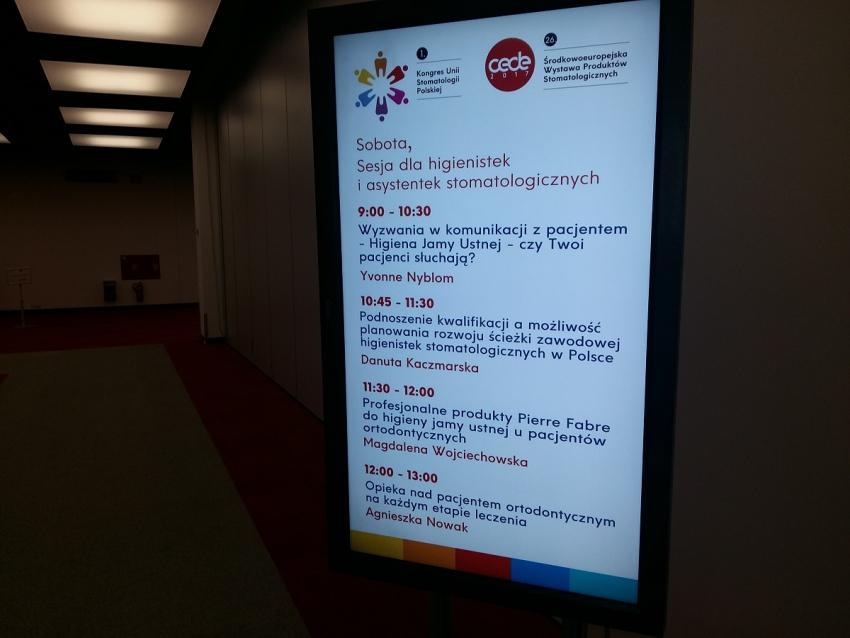 Wystawa CEDE 2017 także dla asystentek i higienistek stomatologicznych