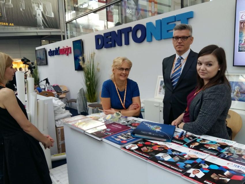 Wystawa stomatologiczna CEDE w obiektywie Dentonetu