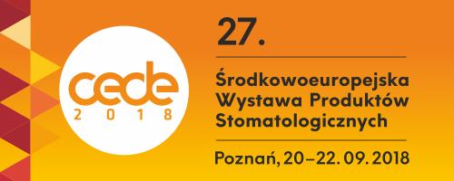 27. Środkowoeuropejska Wystawa Produktów Stomatologicznych CEDE 2018 / 2. Kongres Unii Stomatologii Polskiej