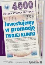 4000 złotych inwestujemy w promocję Twojej kliniki implantologicznej