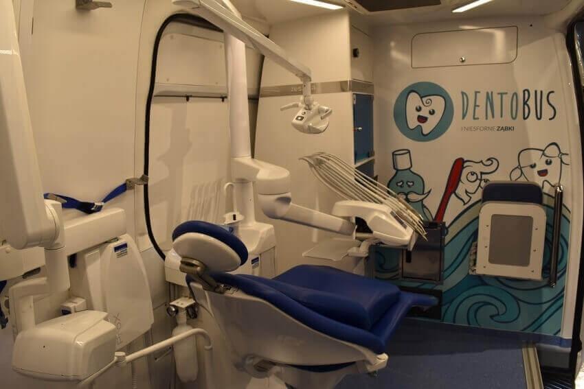 Podlaskie: 800 dzieci skorzystało ze świadczeń w dentobusie