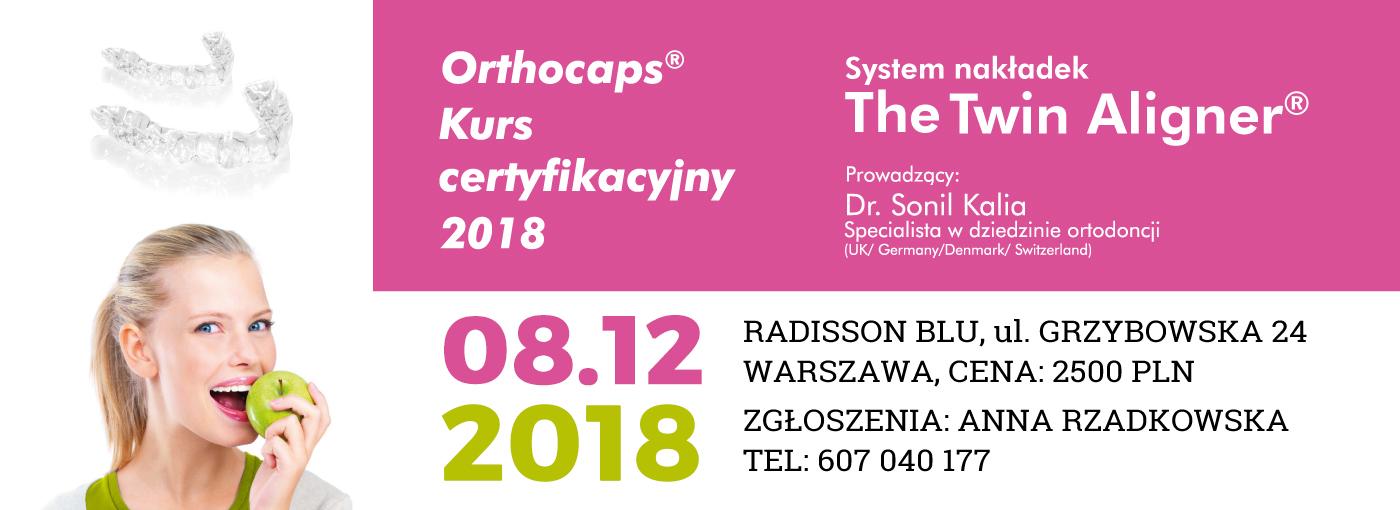Kurs Certyfikacyjny Orthocaps