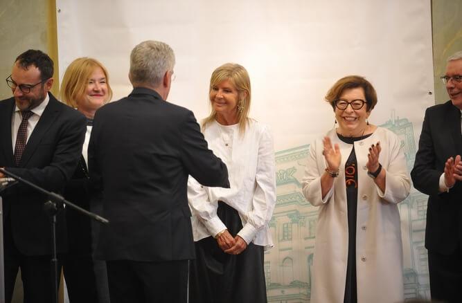 Prof. Renata Górska z tytułem Lidera Ochrony Zdrowia 2018