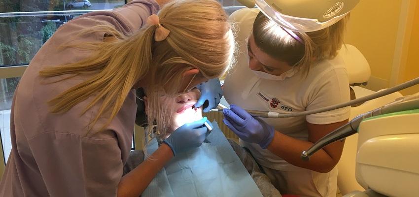 Gabinet stomatologiczny w warszawskiej klinice Budzik