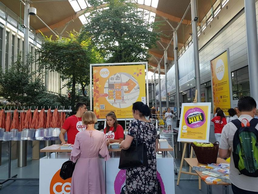 Drugi dzień 27. wystawy produktów stomatologicznych CEDE 2018