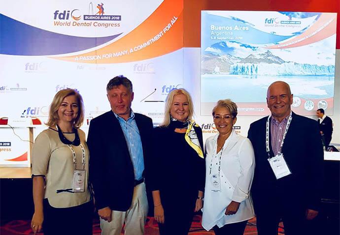 Przedstawiciele PTS-u na kongresie FDI 2018 w Buenos Aires