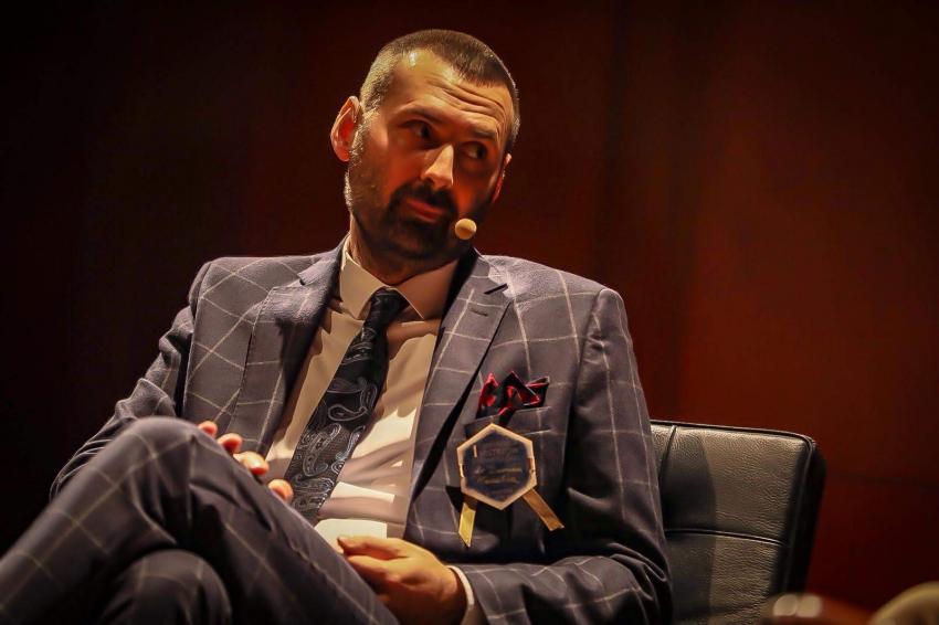 Damian Nasulicz najlepszym wykładowcą Konferencji Mistrzów