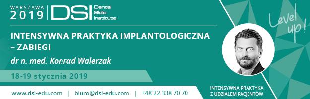 Intensywna Praktyka Implantologiczna - Zabiegi