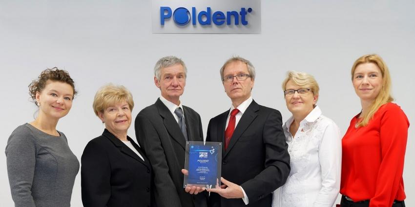 """Prestiżowa nagroda magazynu """"Forbes"""" dla firmy Poldent"""